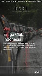 ERCI Mobile - náhled