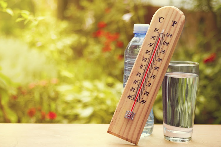 Sizzling temperatures forecast for Jozi.