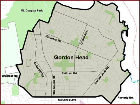 Find Gordon Head Homes and Properties Victoria, BC