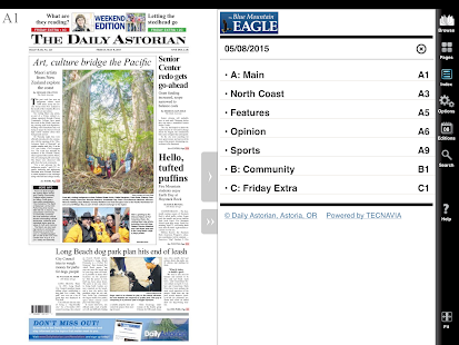 Daily Astorian e-Edition- screenshot thumbnail