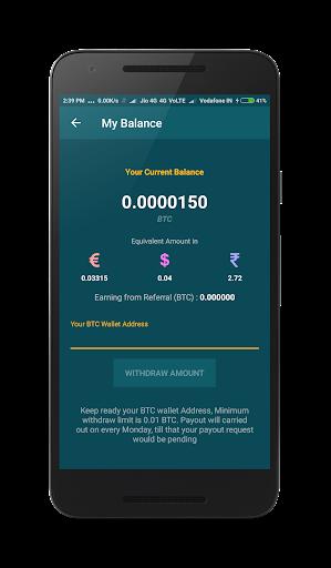 Freebit : Free Bitcoins 1.0 screenshots 4