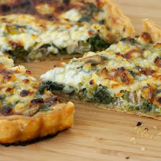 Vegetable Quiche With Cottage Cheese Recipes.