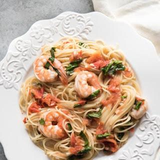 Angel Hair Pasta Tomato Basil Shrimp Recipes.