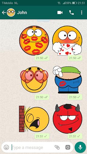 Emojidom stickers for WhatsApp free -WAStickerApps 2.11 screenshots 10