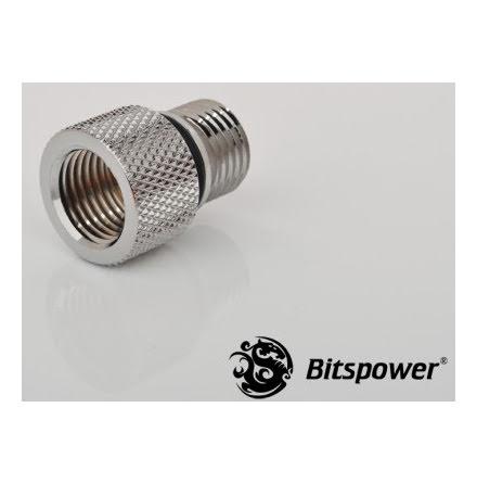 """Bitspower adapter til Eheim pumpe, 1/4""""BSP til 1/4""""BSP"""