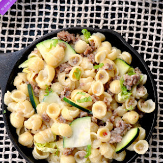 Summer Vegetable Macaroni and Cheese.