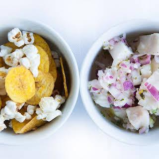 Paleo Diet Halibut Ceviche.