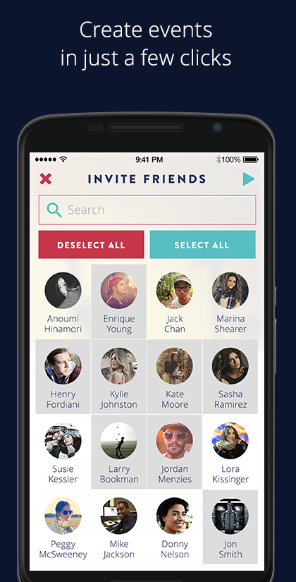 VIVA: Events You Love- screenshot
