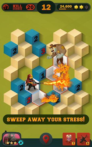 Zombie Sweeper: Minesweeper Action Puzzle 1.1.015 screenshots 12