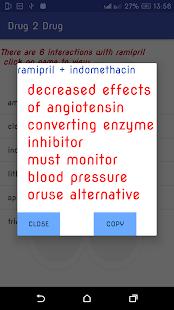 Drug 2 Drug Interaction - náhled