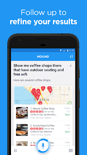 HOUND Voice Search & Mobile Assistant Screenshot