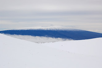 Photo: Mauna Loa from the saddle.