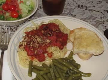 Almond Spaghetti