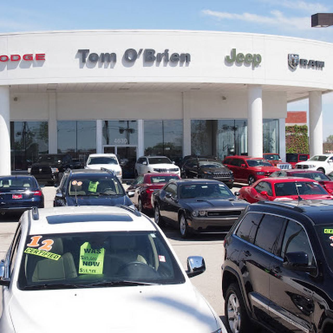 Tom O Brien Jeep >> Tom O Brien Chrysler Jeep Dodge Ram Indianapolis Jeep