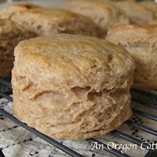 Amazing Whole Wheat Flaky Biscuits.
