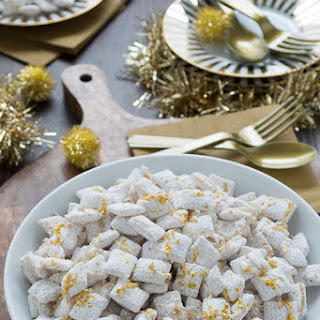 White Chocolate New Years Eve Puppy Chow