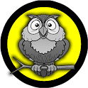 bubble owl shooter icon