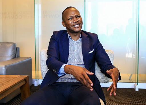 Nkosana Makate says he has still not been compensated for his idea to create Vodacom's Please Call Me function. Picture: SUNDAY TIMES