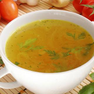 Vegetarian Chicken Soup.