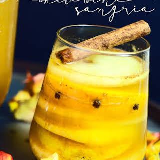 Fall White Wine Sangria.