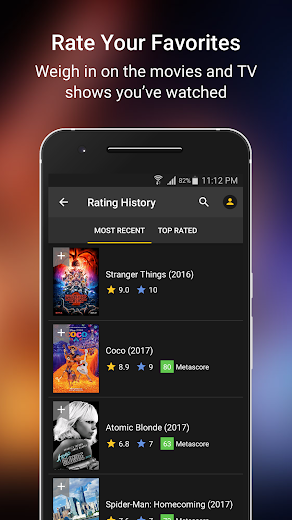 Screenshot 5 for IMDb's Android app'