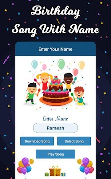 Birthday Song with Name APK Latest Version Download - Free