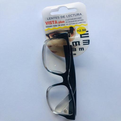 lentes de lectura negro +2.50