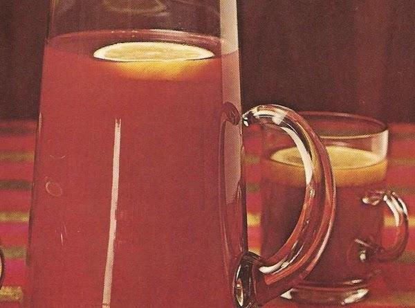 Sugarplum Cranberry Punch Recipe