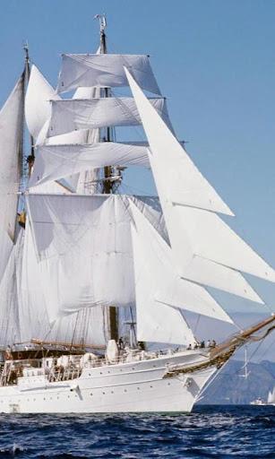 壁紙セーリング船