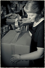 Photo: Meet Julie - She is In charge of chalkboard despatches
