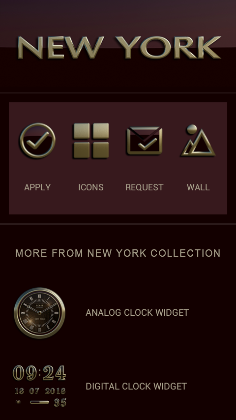 NEW YORK Icon Pack 3D Screenshot 4
