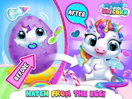 My Baby Unicorn - Cute Rainbow Pet Care & Dress Up 1.0.33 screenshots 22