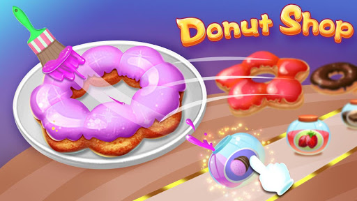 Donut Shop - Kids Cooking Game  screenshots 4