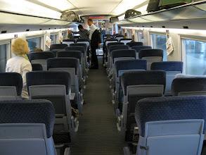 Photo: Rail Europe high speed ICE train from Frankfurt to Mannheim.