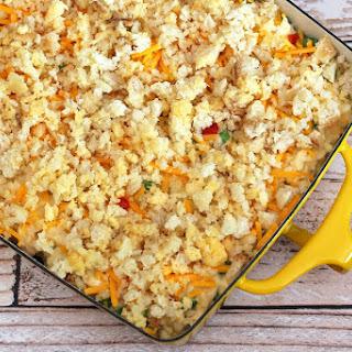 Tuna, Cheese, and Rice Casserole Recipe