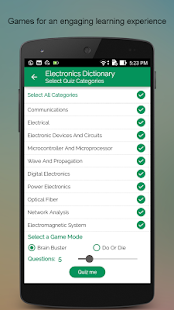 Electronics Dictionary- screenshot thumbnail
