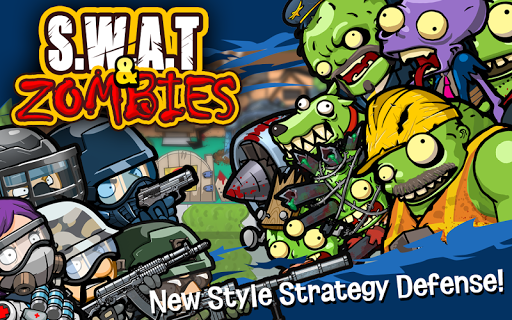 SWAT and Zombies - Defense & Battle u0635u0648u0631 1
