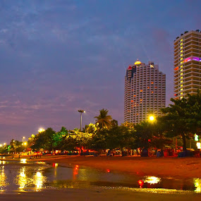 Building in Pattaya by Kunal Kumar Maurya - Buildings & Architecture Other Exteriors ( building, sea, seascape )