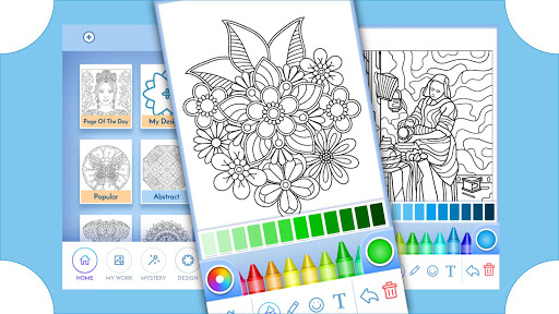 Coloring Book for Adults filehippodl screenshot 15