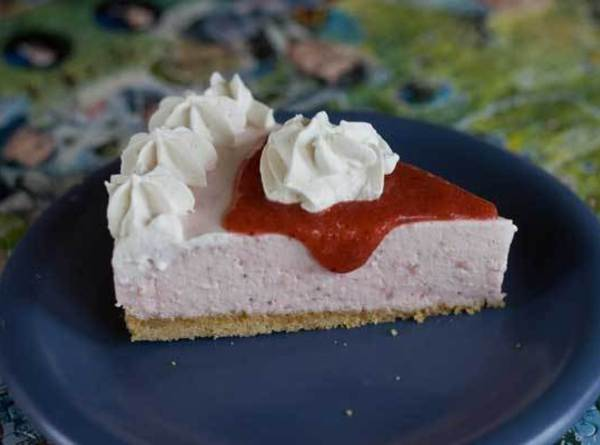 Fold the whipped cream into the batter, then pour evenly into the pans or...