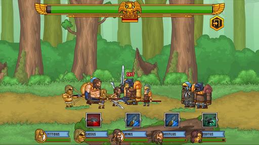Ảnh màn hình trong game Gods Of Arena mod