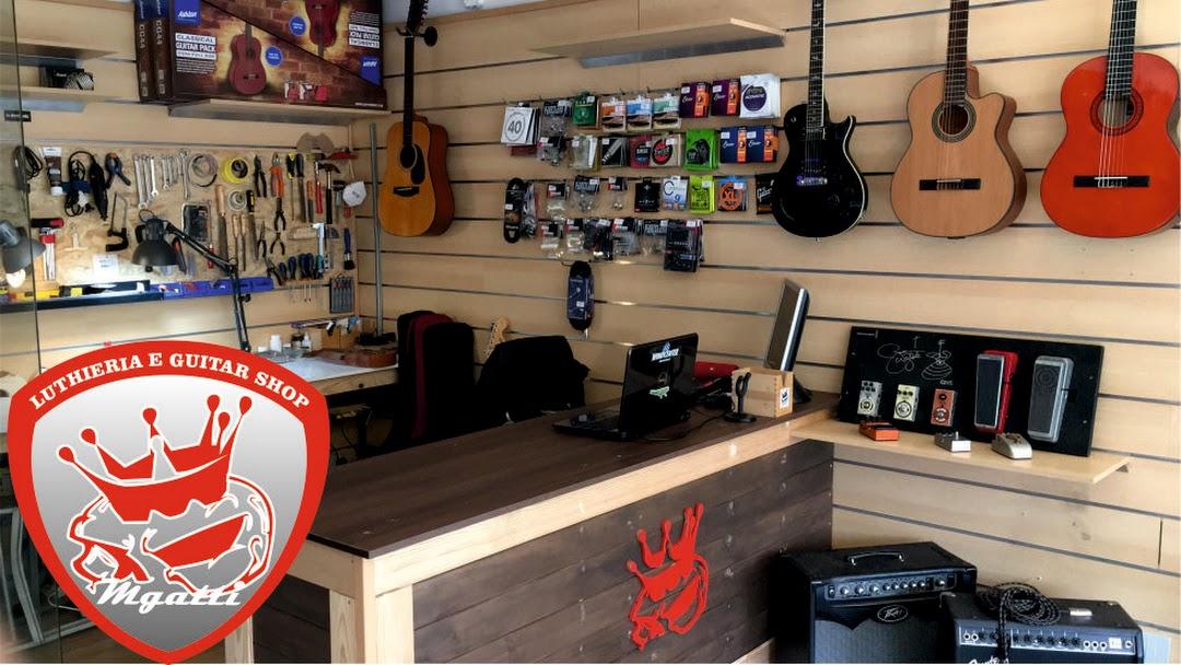 MGatti Luthieria e Guitar Shop  - Reparo de instrumentos