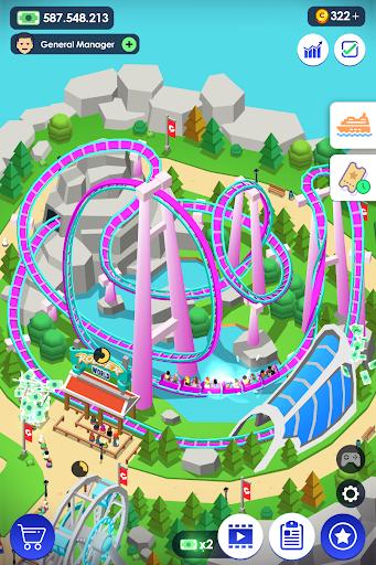 Idle Theme Park Tycoon - Recreation Game 1.26 screenshots 1