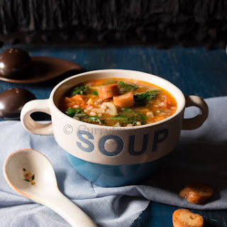 Barley Minestrone Vegetable Soup