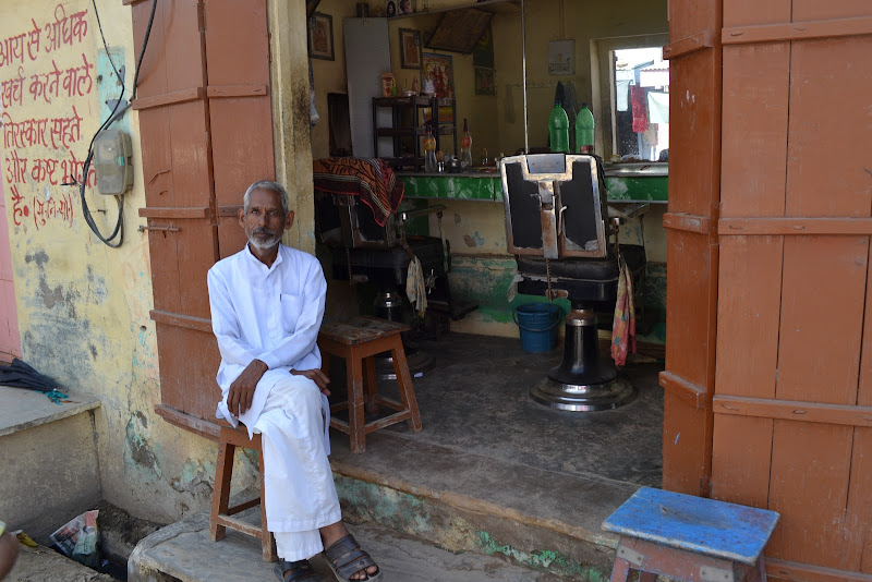 Il barbiere indiano di skirod