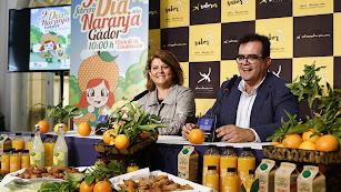 Presentación este lunes del 'Día de la Naranja'.