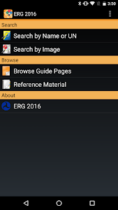 ERG 2016 for Android screenshot 0