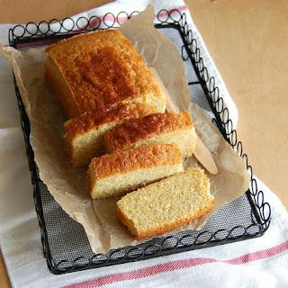 Orange Marsala pound cake.