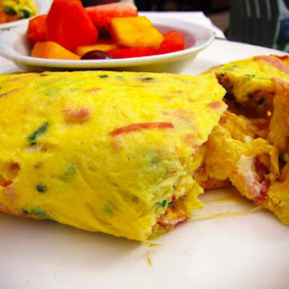 Pinoy Omelet Recipe (Ham and Cheese)