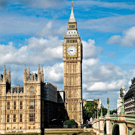 Big Ben by Pravine Chester - Buildings & Architecture Public & Historical ( england, building, london, westminster, big ben, architecture, photography )